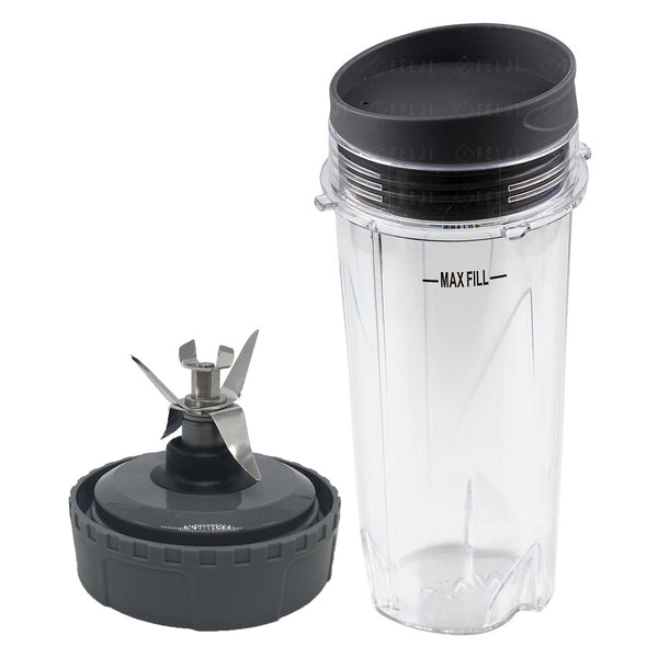 Nutri Ninja 16 Oz Cup With Lid And Extractor Blade Model