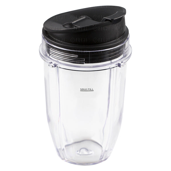 Nutri Ninja 18 Oz Cup With Sip Amp Seal Lid Replacement
