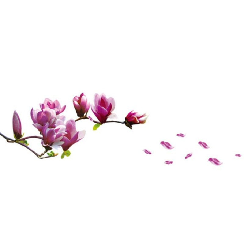 Magnolia Flower Decal
