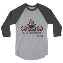 Load image into Gallery viewer, Live SF 3/4 Tee