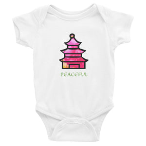 Peaceful Pagoda Onesie