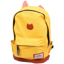 Load image into Gallery viewer, Kitty Canvas Backpack