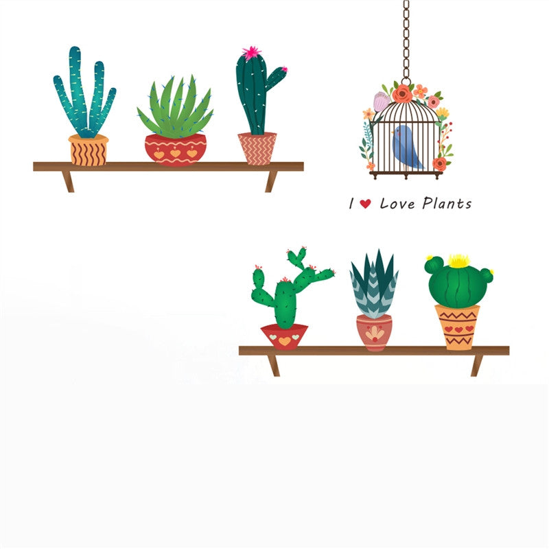 Cacti Decal
