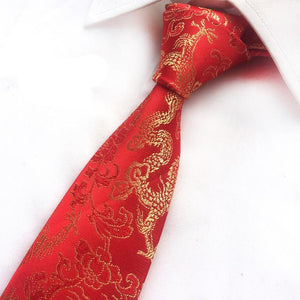 Dragon Pattern Tie