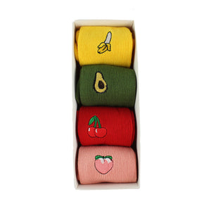 Fruit Socks (4PK)