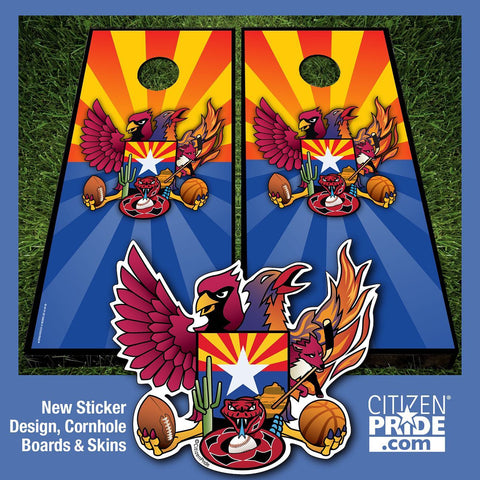 Arizona Sports Fans!! Display your Citizen Pride  with our original designs.