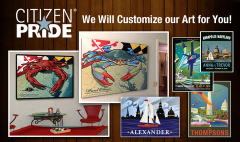 Custom Art for You by Citizen Pride