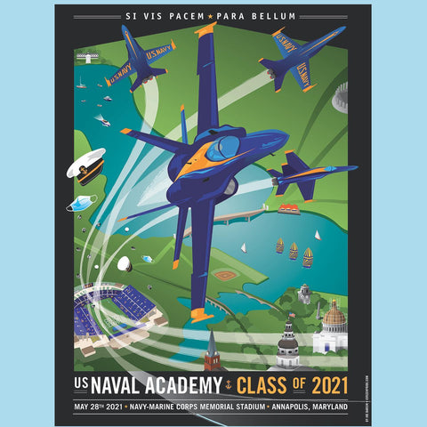 USNA Class of 2021 Poster