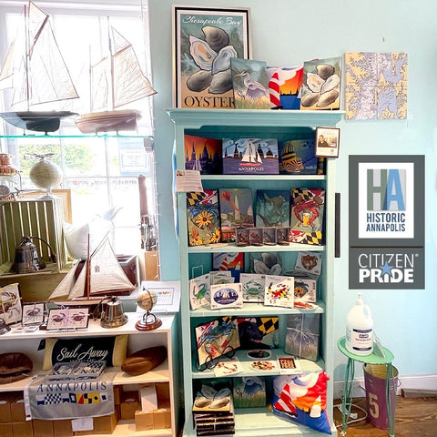 Visit the Historic Annapolis Museum Store and find our artwork to help you
