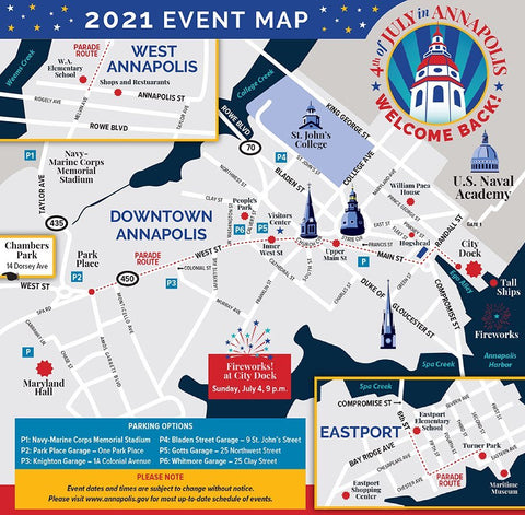 4th of July in Annapolis 2021: Welcome Back! Campaign