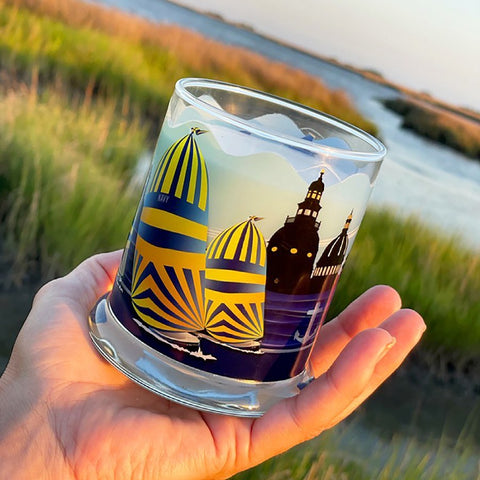 Luxury Soy Candle, High Tide Fragrance with Gift Packaging