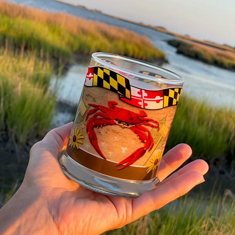 Luxury Soy Candle, Hometown Maryland Fragrance with Gift Packaging