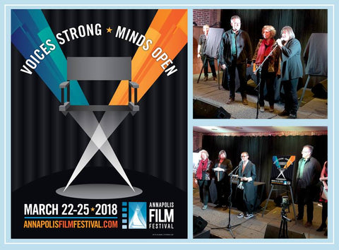 Annapolis Film Festival Revealed the 2018 Poster by Joe Barsin