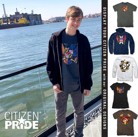 Citizen Pride Birdland t-shirt at the Sagamore Hotel in Fells Point Baltimore