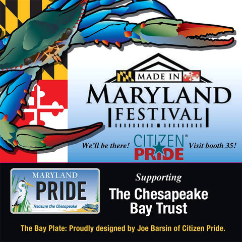 Citizen Pride at Maryland Festival Booth 35