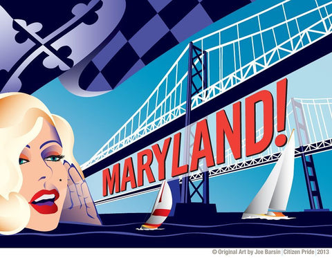 Maryland Monroe tribute to 2013 Annapolis Film Festival poster!