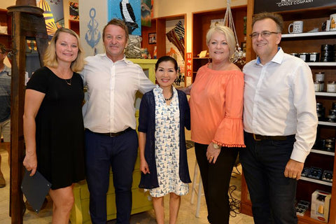 Grand Opening of Local by Design at Westfield Mall