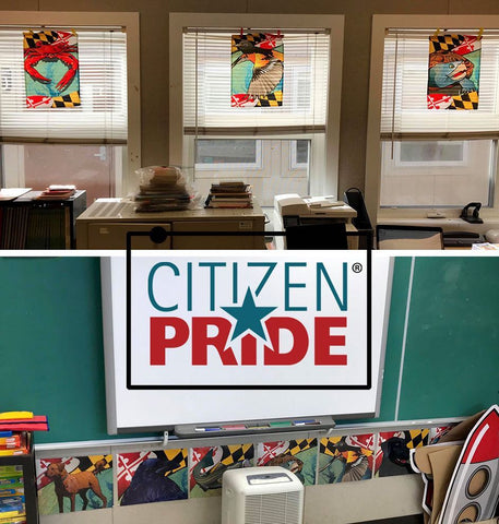 What's the lesson of the day? 📚We learned there's a teacher at Tyler Heights Elementary who displays their Citizen Pride in the classroom.