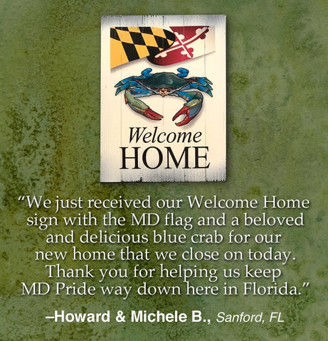 Happy New Home, Howard and Michele!!