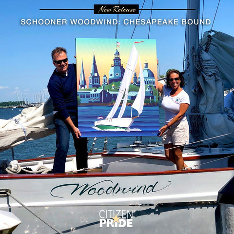 Schooner Woodwind: Chesapeake Bound with Captain Jenn Kaye and Joe Barsin