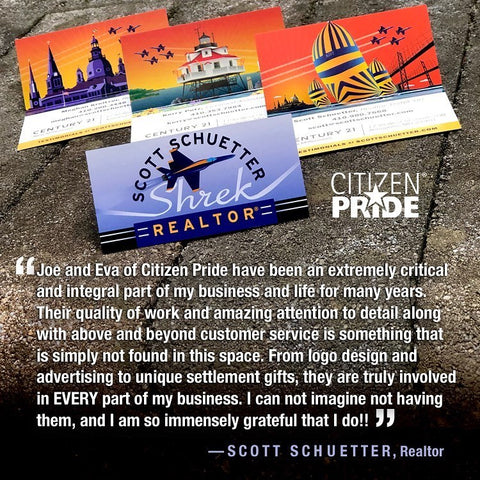 An extra special testimonial as it comes from a friend we sincerely respect. Realtor Scott Schuetter