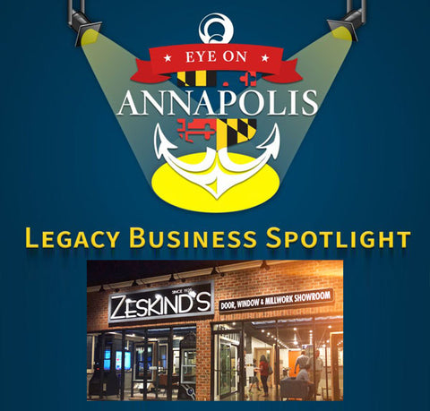The Eye On Annapolis  Legacy Business Spotlight featured Zeskind's Hardware and Millwork
