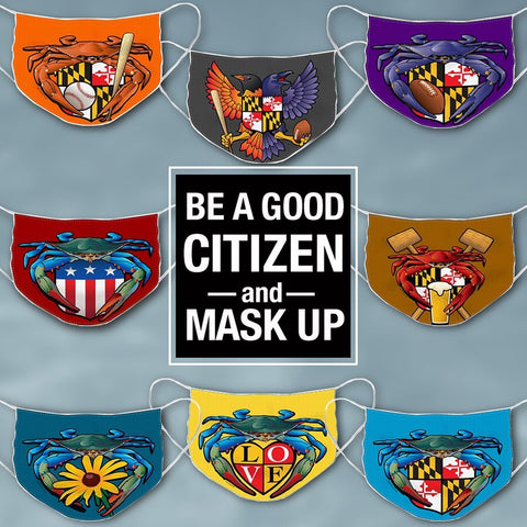 Be a good citizen and Mask Up!