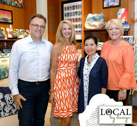 First Lady extended her time and support to Local by Design Annapolis Mall
