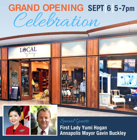Grand Opening Celebration for Local by Design - Annapolis Mall