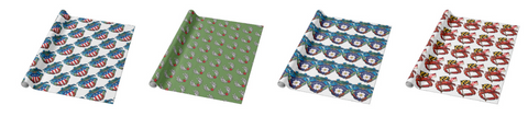 Citizen Pride wrapping paper design samples 3