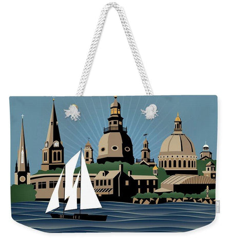 Annapolis Steeples and Cupolas Serenity - Weekender Tote Bag