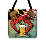 Maryland Crab Feast - Tote Bag