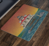Thomas Point Shoal Lighthouse, Doormat, 26x18""