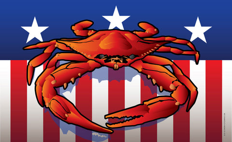 USA Crab - Art Print