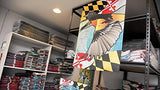 Display of Maryland Oriole Large House Flag by Joe Barsin