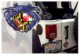 Fan photo of Raven Crab Football Maryland Crest Sticker