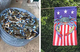 Fan photo of USA Blue Crab Large House Flag by Joe Barsin