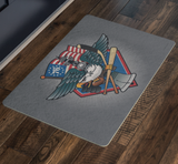 Fly, Philly, Fly! Sports Fan Crest, Doormat 26x18""
