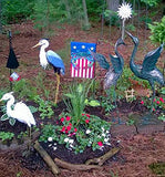 Fan photo of USA Blue Crab Garden Flag by Joe Barsin