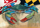 Maryland Blue Crab Notecard by Joe Barsin, 7x5