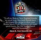 Boston Sports Fan Crest sticker fan review