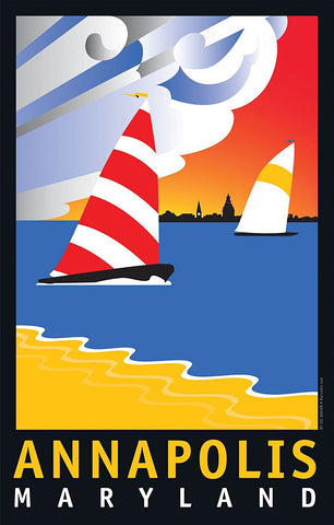 Annapolis Wednesday Afternoon Art Print by Joe Barsin, 24x36