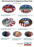 USA crab and critter theme magnets