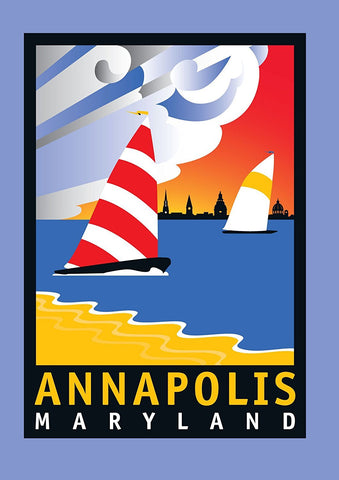 Annapolis: Wednesday Afternoon Notecard by Joe Barsin, 5x7