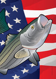 USA Rockfish Garden Flag by Joe Barsin, 12x18