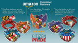 Citizen Pride Sticker Reviews, 5 stars