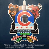 Fan review of Chicago Sports Fan Crest Sticker, 4x5