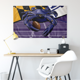 "Ravens Sports Crab of Baltimore, Large Flag, 60 x 36"" with 2 grommets"