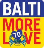 BaltiMore to Love Sticker, die cut vinyl, 3.75x4