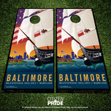 Baltimore 1812 Cornhole Boards